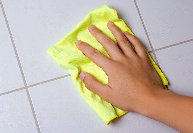 تنظيف السيراميك طرق التنظيف المنزلية