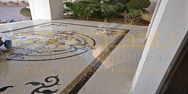 جلي رخام ووترجيت في قصر آل عمران مخرج 2