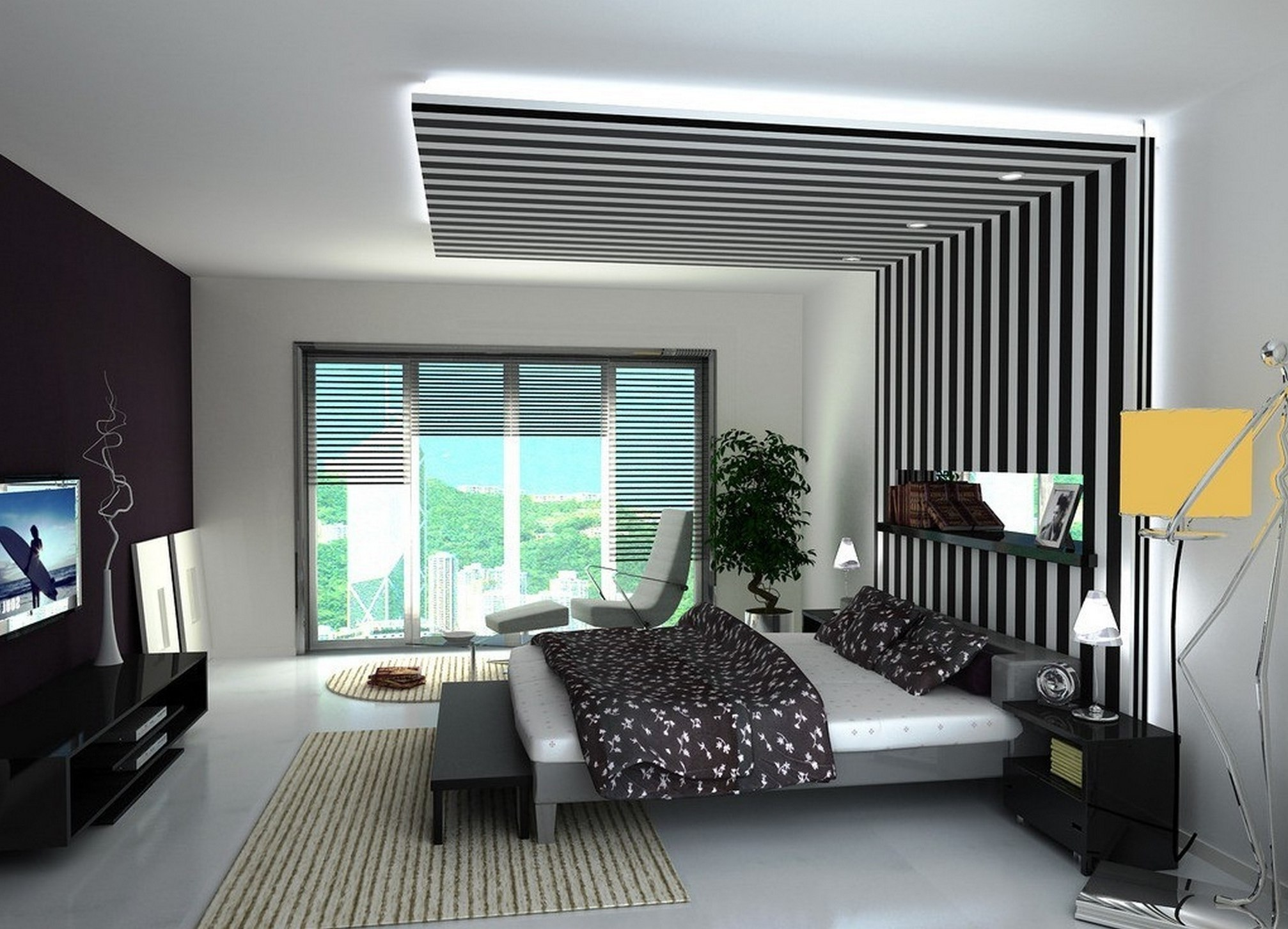 Wall Ceiling Designs For Bedroom Decorating Painting ...