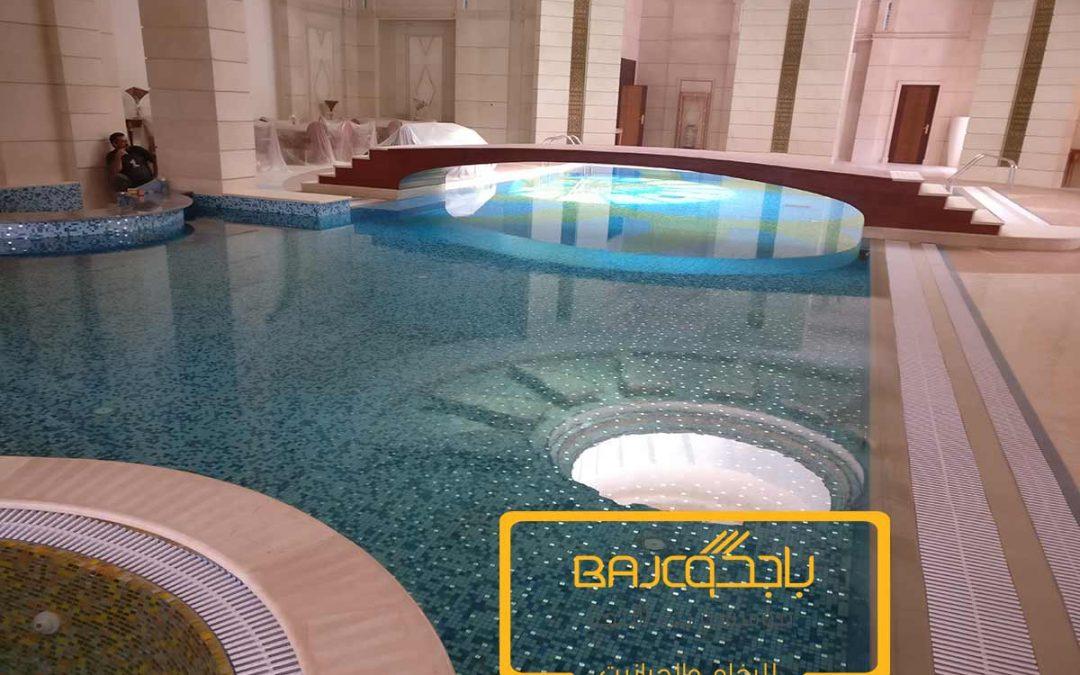تركيب موازييك مسابح في الرياض بتصاميم رائعه وأنيقه