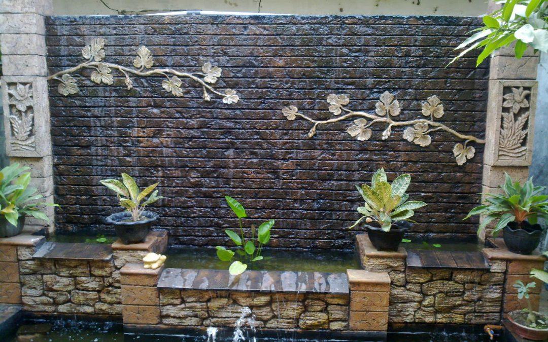 شلالات جدارية خارجية مميزه وأنيقه