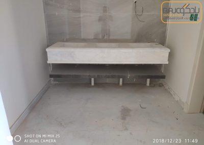 تفصيل وتركيب مغاسل رخام بحوض شلال (10)