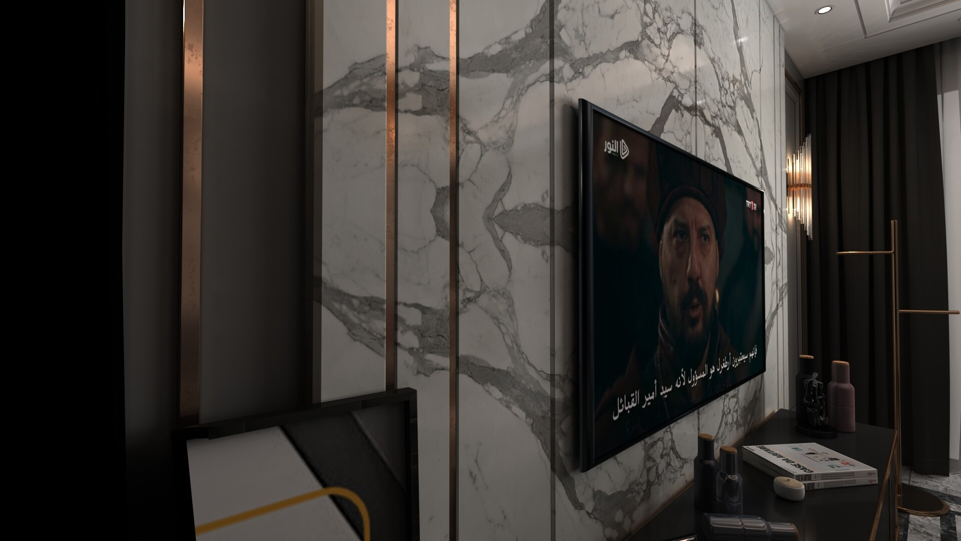 تصميم خلفيات التلفزيون