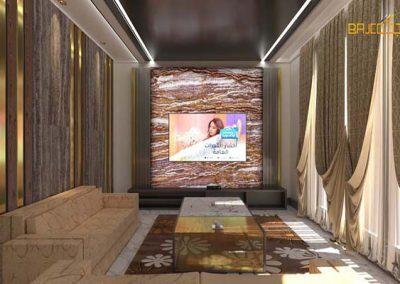 تصميم لوحة رخام اونيكس Living room