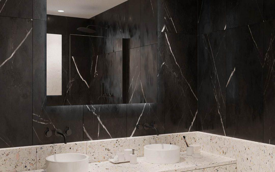 تصاميم مغاسل رخام للحمامات