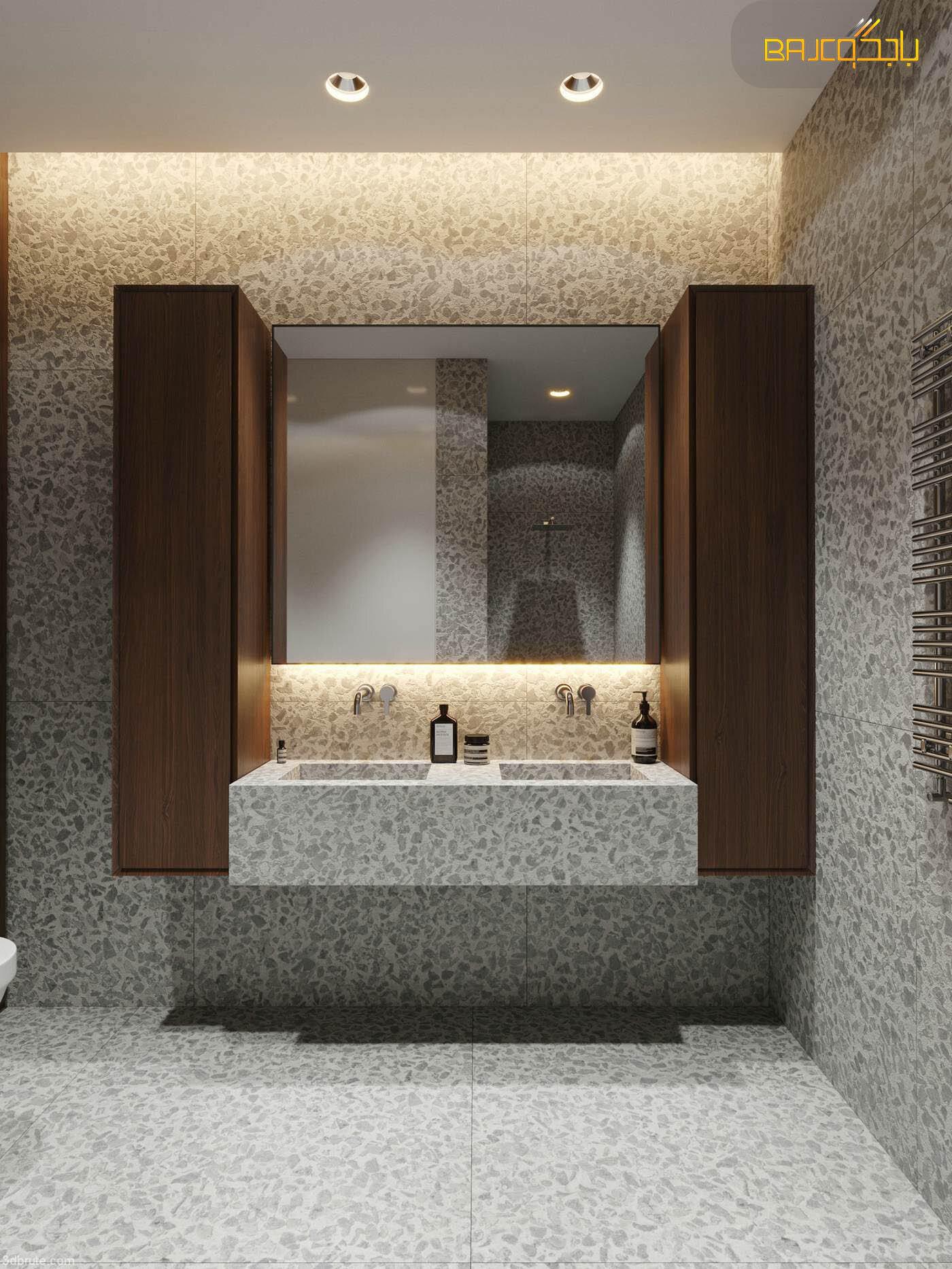 مغسلة تيرازو داخل الحمام