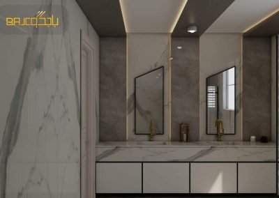 تصاميم مغاسل رخام مودرن