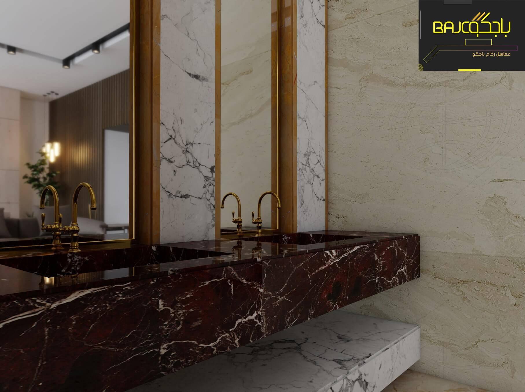 مغاسل رخام طبيعي باجكو لديكور الرخام تصاميم قابلة لتنفيذ 2021